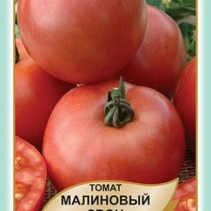 помідор Малиновий дзвін