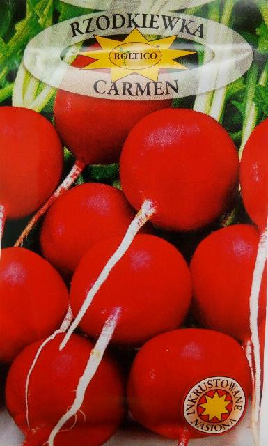 редис Кармен, польське насіння