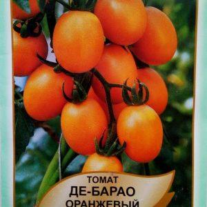 помідор Де-Барао оранжевий