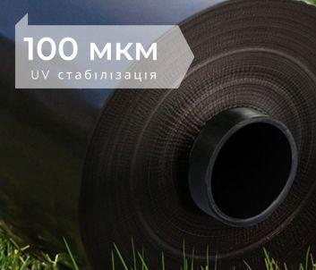 черная пленка для мульчи, 100 мкм, Планета Пластик