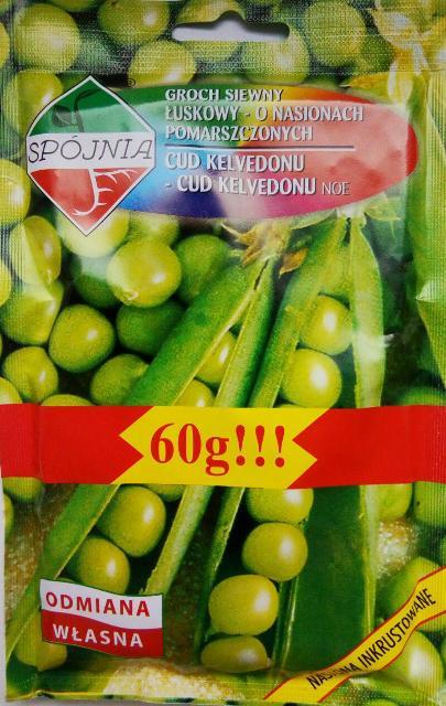 горох овощной Чудо Кельведора, Польские семена