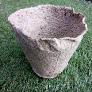 торф'яний стаканчик для розсади, розмір 11х10 см