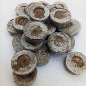 таблетки для розсади Джиффі, 24 мм