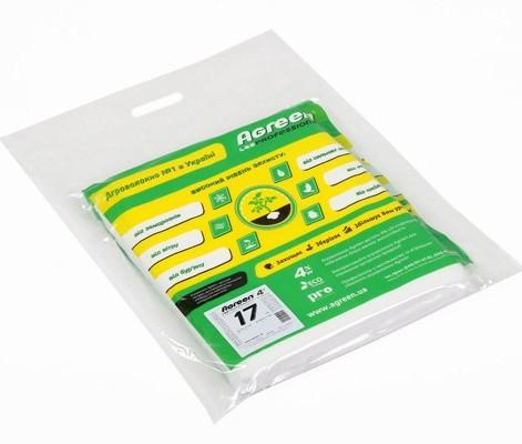 агроволокно біле в пакеті, щільність 17, ТМ Агрін